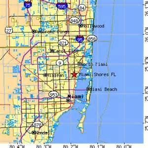 us area code miami miami shores florida fl population data races housing economy
