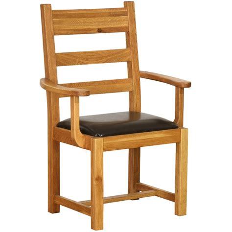 Oak Carver Dining Chairs Lichfield Solid Oak Carver Oak Carver Dining Chairs