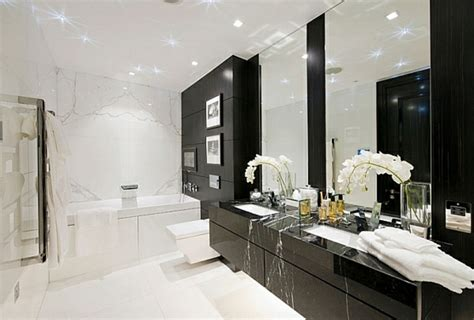 schwarz weiß badezimmerfliesen ideen badezimmer weiss design