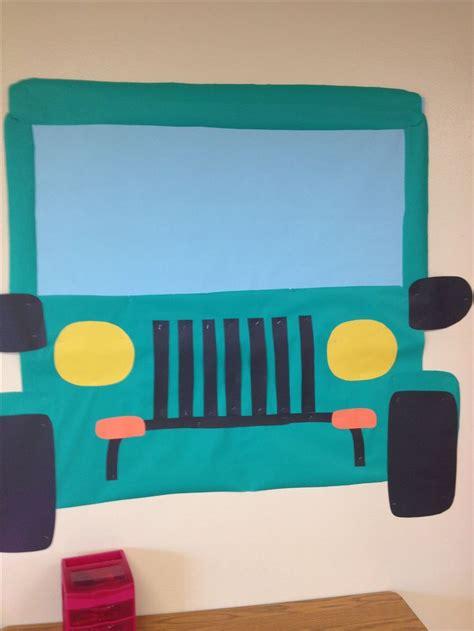 jeep wreath theme 25 best ideas about zoo bulletin board on pinterest