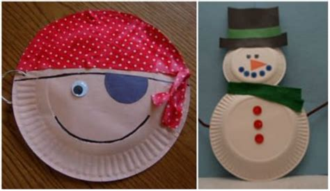 Paper Crafts For Boys - 34 amazing paper plate crafts for tip junkie