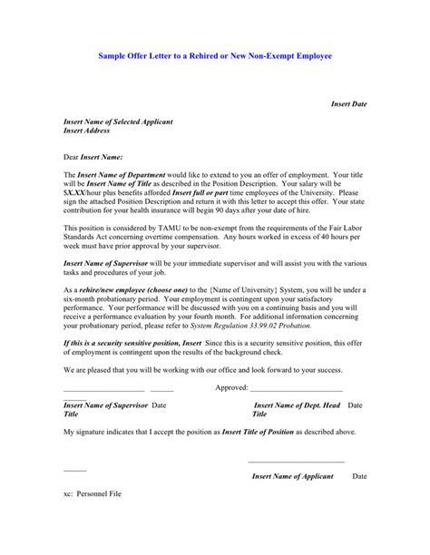 appointment letter qmr qmr appointment letter sle sle offer