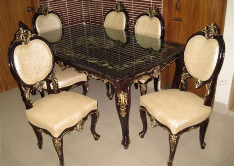 Dining Table Set Dhaka Tristar Dishing Dining Table Furniture 6 Pieces Set Dl44f