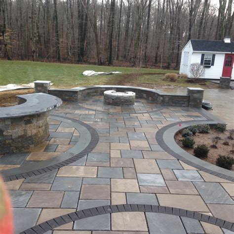 stone patio patios bluestone pavers photo gallery torrison stone garden durham ct