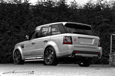 dark silver range rover 2011 silver range rover autobiography by project kahn