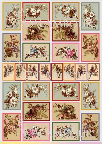 decoupage with printer paper 17 best images about calambour cal papers on
