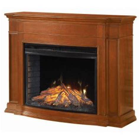 hton bay soames 53 in electric fireplace in walnut
