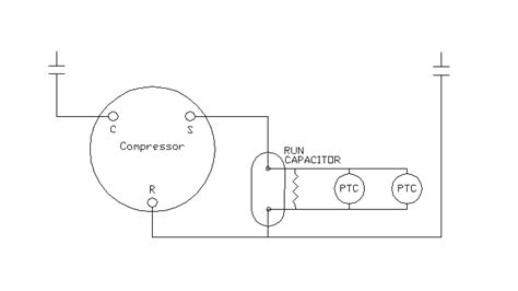 common start run diagram basic electrical controls of air conditioning units