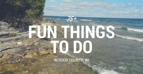 Things To Do In Door County Wi door county door county wi