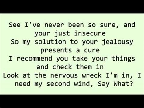 jealousy lyrics eminem jealousy woes ii lyrics letssingit lyrics