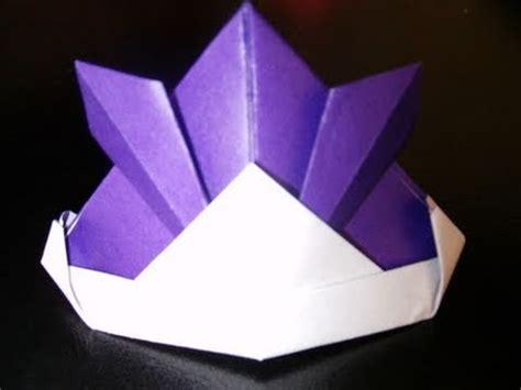 Origami Samurai Helmet - origami samurai helmet