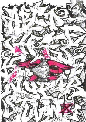 graffiti letters   graffiti alphabet letter font