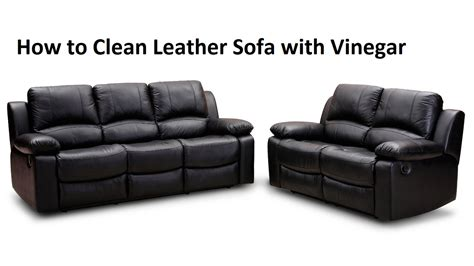 how to clean leather settee clean sofa with vinegar scifihits com