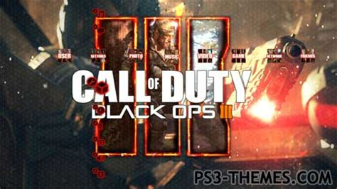 themes ps3 black ops 3 ps3 themes 187 cod black ops iii slideshow theme