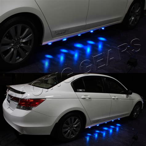 What Are Puddle Ls On A Car by 2x Universal Brabus Style Blue Led Glow Car