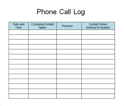 call list template phone call list template search call log