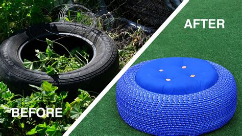 Used Patio Chairs For Sale Outdoor Tire Seats Youtube