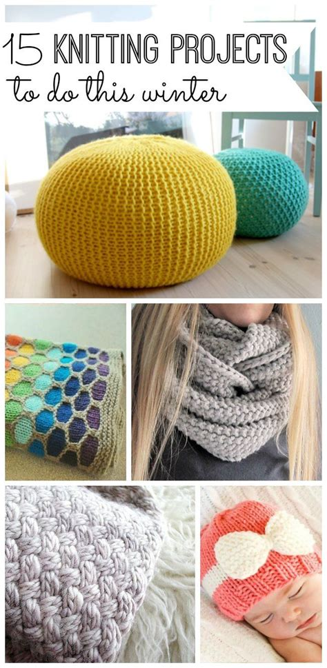 easy knitting crafts best 25 easy knitting projects ideas on easy