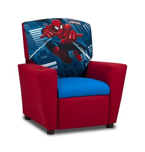kids armchair kids spiderman ultimate recliner cool kids chairs