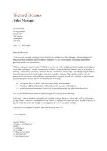 Sle Of Cover Letters For Resume by Sales Manager Cv Template Purchase