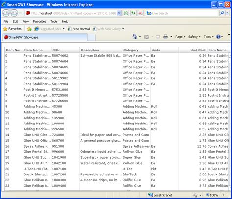 grid layout gwt live grid fetch sle smart gwt table data binding