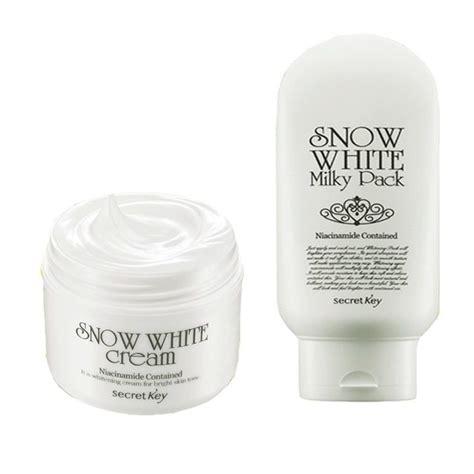 Secret Key Snow White Pack Limited secret key snow white 50g snow white pack 200g