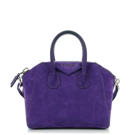 Givency Antigona Mini givenchy nubuck mini antigona purple 139486