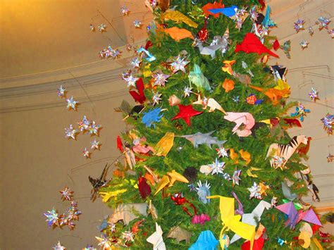 pay a visit origami tree at the history museum