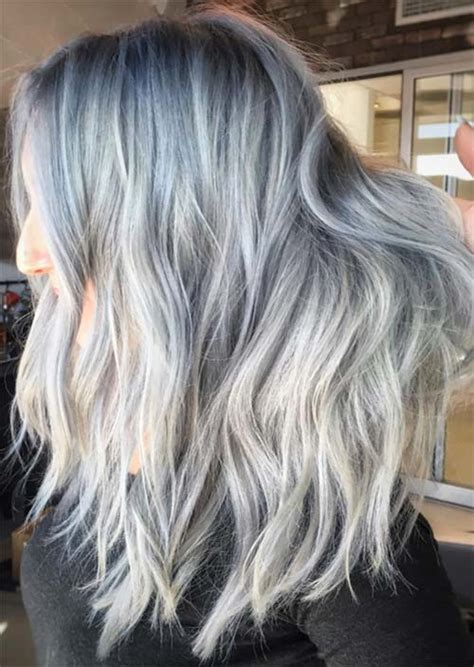 silver gray hair color 49 grey silver hair colors tips for going gray hairs