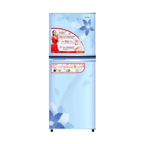 Kulkas Sharp Big Freezer jual sharp new kirei ii series sj 236nd fb kulkas 2 pintu
