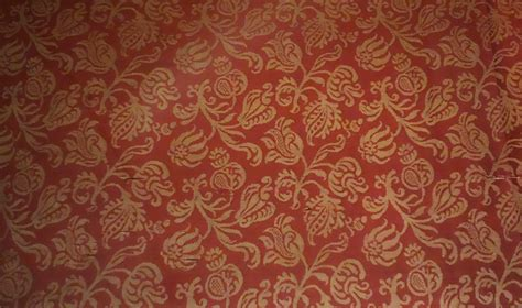 baroque pattern history file damask with floral sprigs italy baroque 1600 1650