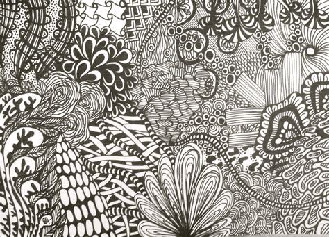 Drawing Zentangle black zentangle drawing by sarasoulsister13 on deviantart