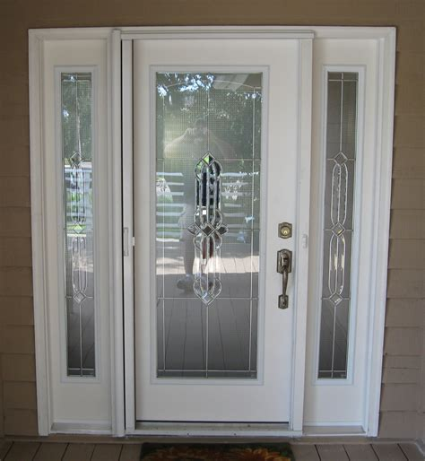 Front Door Inserts Exterior Glass Door Inserts Pictures To Pin On