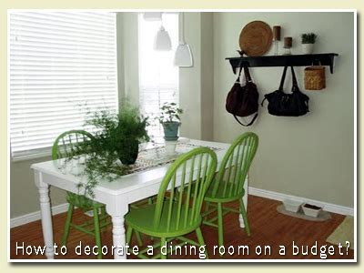 dining room decor on a budget uxwdvs s how to decorate a dining room on a budget