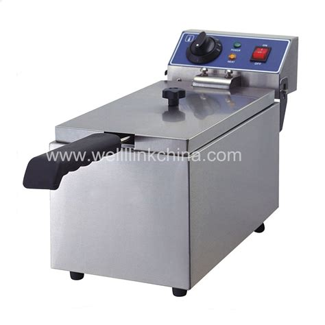 Royalledy Table Electric Fryer Mdxl 16l commercial electric fryer 8l wl wf081 well link machinery