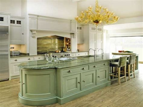 painted islands for kitchens green kitchen accessories painted country kitchen