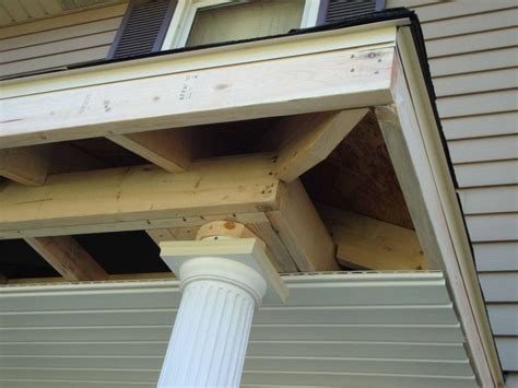 project spotlight adding  front porch roof  safety