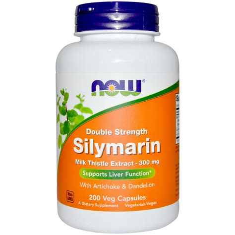 Vegan Detox Side Effects by Now Foods Strength Silymarin 300 Mg 200 Vegan