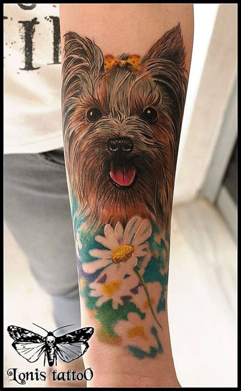 yorkshire terrier tattoo designs yorkie terrier by lonis 3rd prize best of