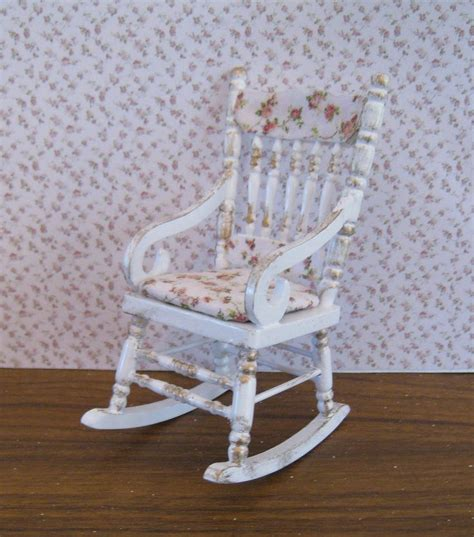 shabby chic rocking chair painted furniture pinterest