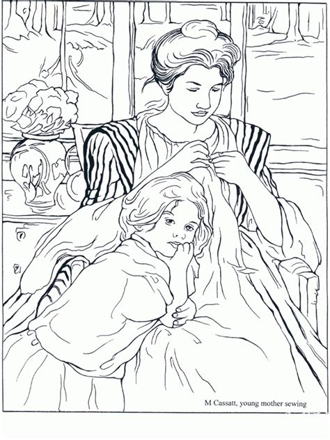 Mona Lisa Coloring Page Kids Coloring Mona The Vire Coloring Pages