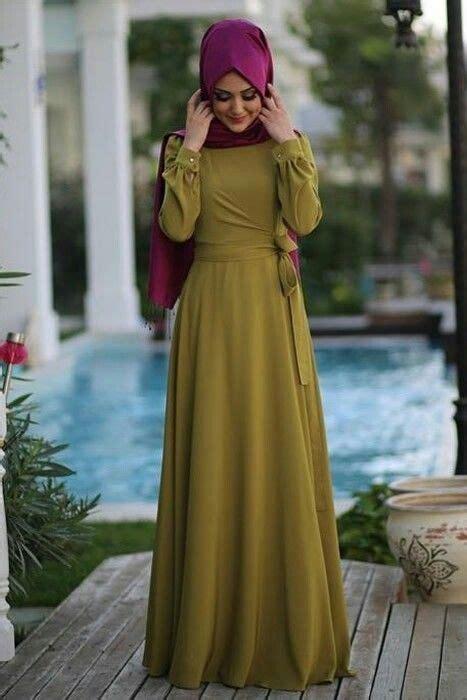 Baju Syari Bergo Elsa New Brownhr310 dress muslim remaja terbaru nazlea 35 trend dress muslim remaja masa kini terbaru 2018