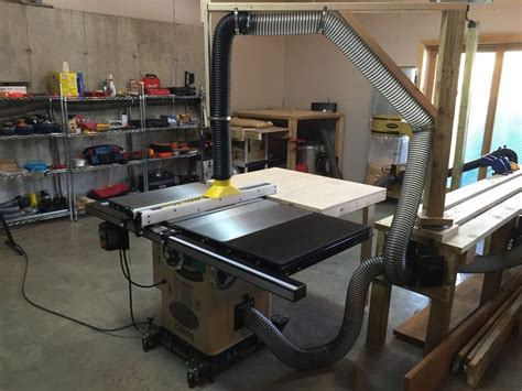 table saw dust collection ideas 200 best images about dust collection on dust