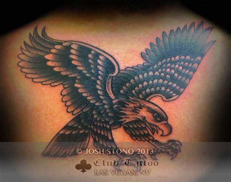 eagle tattoo tattoo parlour joshstono eagle black and grey traditional