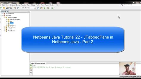 java swing tutorial java swing tutorial 22 jtabbedpane in netbeans java