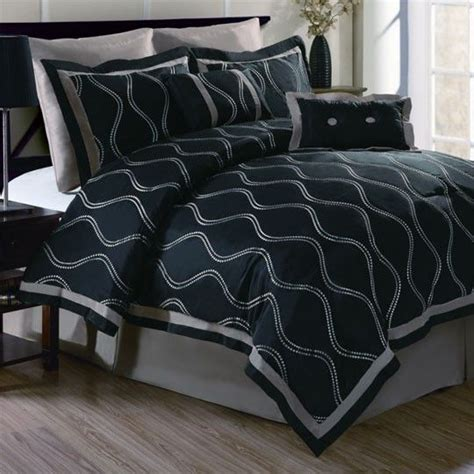 fingerhut bedroom sets brielle black 8 comforter set 200 00 my bedroom