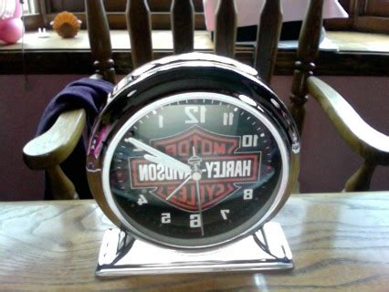 free harley davidson alarm clock other jewelry items listia auctions for free stuff