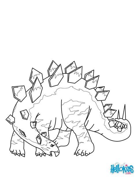 stegosaurus coloring pages hellokids com