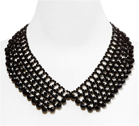 how to make a collar necklace with fall fashion trend make a statement with a pan