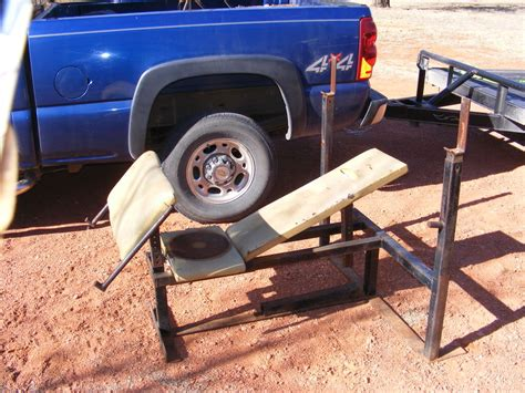 old weight bench shooting bench oklahoma shooters